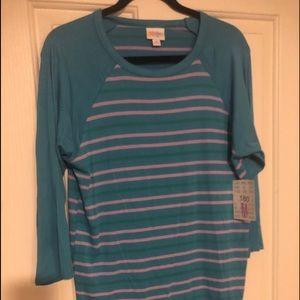 Turquoise  Randy by LuLaRoe size Medium